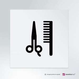 Cartello Salone barba e capelli