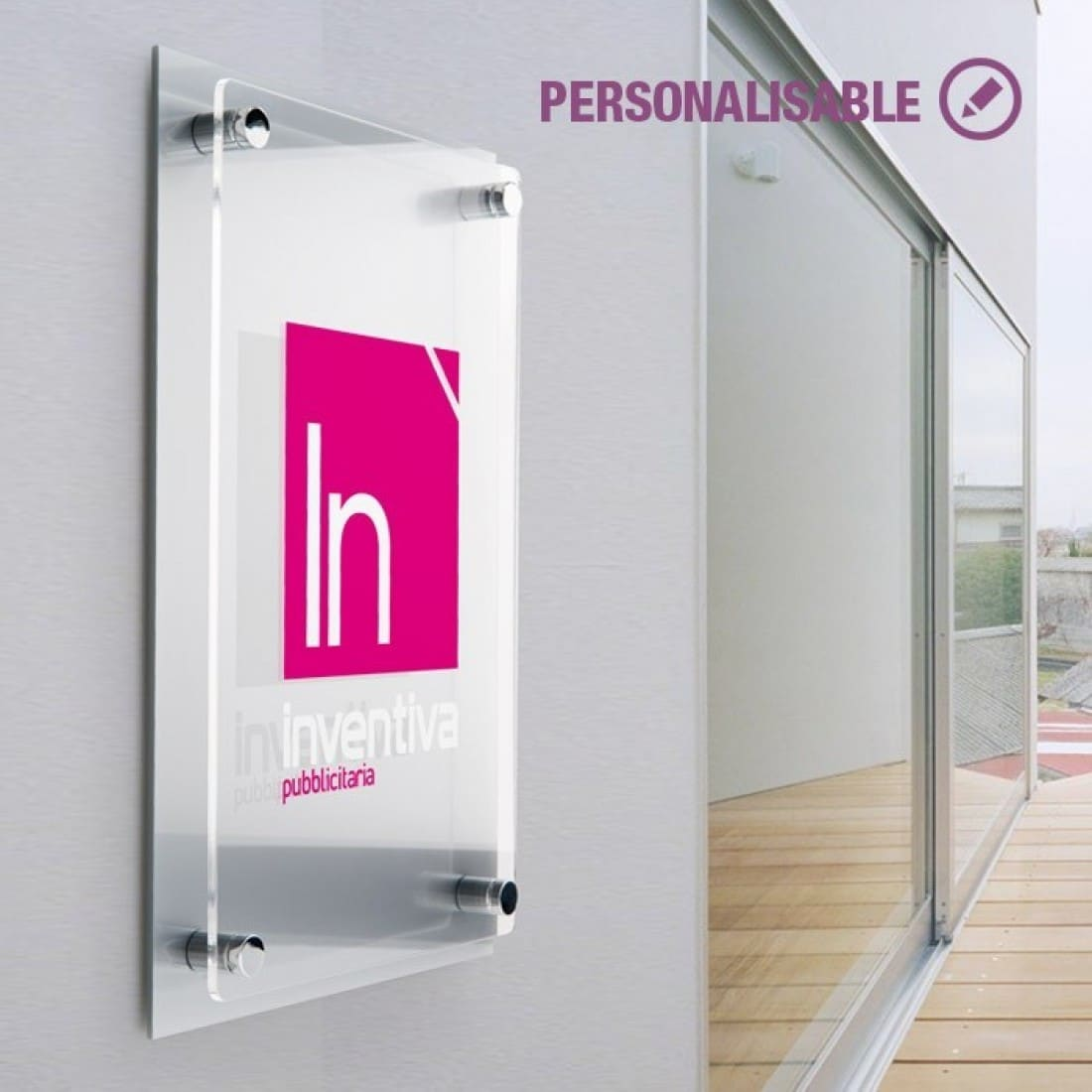 Targhe esterno plexiglass - Targhe porta plexiglass ...