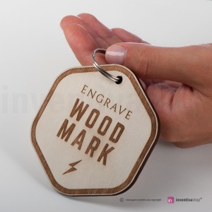 Portachiavi Wood-Mark Milano