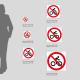Cartello Divieto di transito alle bici: misure plexiglass