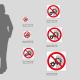 Cartello Non rimuovere la protezione con organi in movimento: misure plexiglass