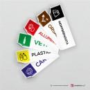 Adesivo Carta mod.D: finitura Bianco