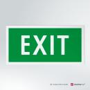 Adesivo EXIT rettangolare 2-1