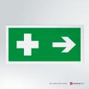 Adesivo Pronto soccorso rettangolare 2-1