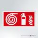 Cartello Idrante ed Estintore antincendio rettangolare 2-1