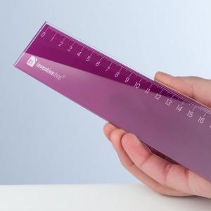 Righello personalizzato in plexiglass