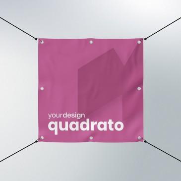 Striscione Pubblicitario formato quadrato