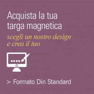 Targhe Magnetiche con Design proposti