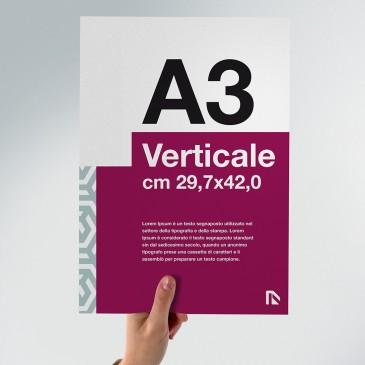 Flyer A3: formato verticale