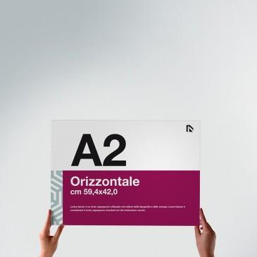 Poster A2: formato orizzontale