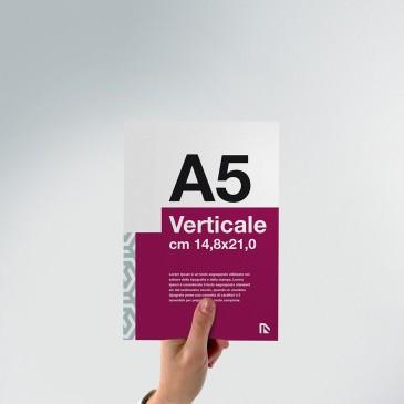 Flyer A5: formato verticale