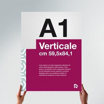 Poster A1: formato verticale