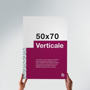 Poster 50x70: formato verticale