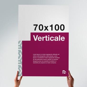 Poster 70x100: formato verticale