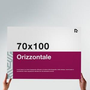 Poster 70x100: formato orizzontale