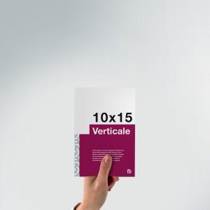 Flyer 10x15: formato verticale