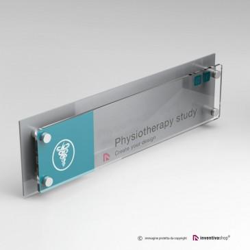 Targa professionale DualPlate Aspect 4-1: Silver