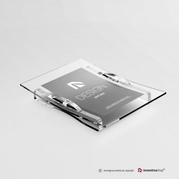 Rendiresto personalizzabile in plexiglass