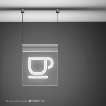 Pannelli luminosi led personalizzati: AirlLed quadrato