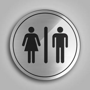 Targhette Toilette Round