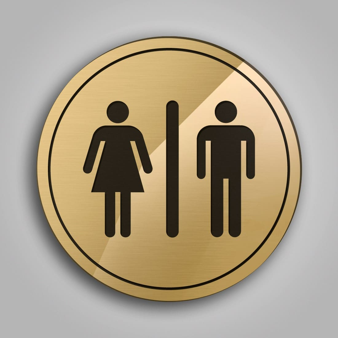 targhette e cartelli toilette - Targhe Per Toilette