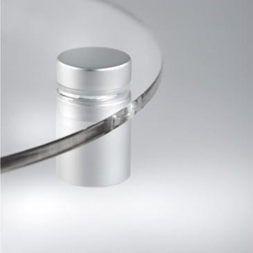 DIstanziale per targa in alluminio 1313 satinato