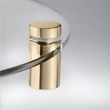 Distanziale alluminio 1319 finitura oro