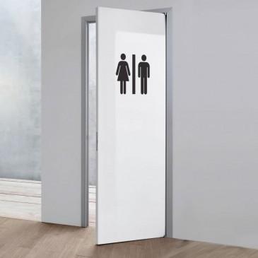 Simboli wc donne e uomini