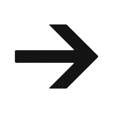Frecce segnaletiche adesive