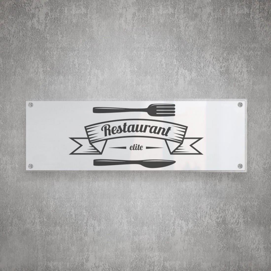Estremamente Insegne per ristoranti. DF14
