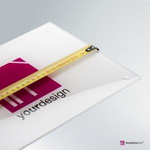 Targa plexiglass misura personalizzata