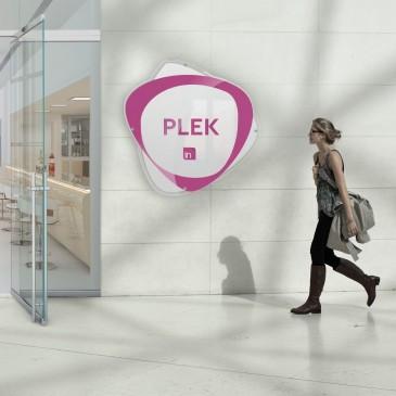Insegna plexiglass: modello Plek