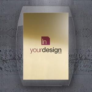 Targa Alluminio Gold: Studio Verticale Combo