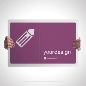 Cartelli pubblicitari. Cartello rettangolare orizzontale monofacciale