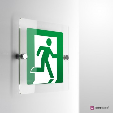 Pittogramma uscita di emergenza