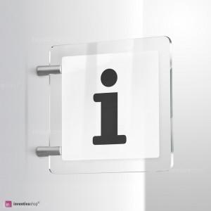 Cartello Plex: Punto informazioni vers.A bifacciale