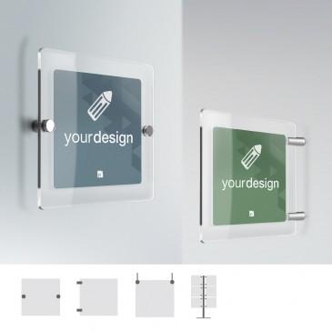 Cartello Plex Personalizzabile: quadrato