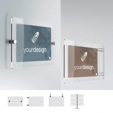 Cartello Plex personalizzabile: rettangolare standard