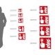 Cartello Plex: Pulsante allarme antincendio F005 bifacciale