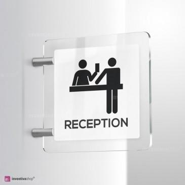 Cartello Plex: Reception bifacciale