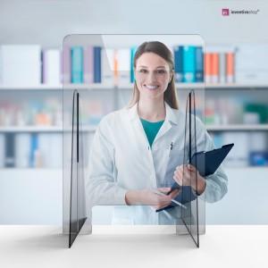 Barriere in plexiglass: pannelli protettivi con apertura