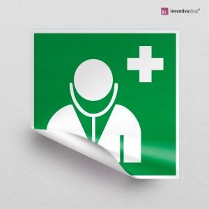 Adesivo Medico d'emergenza E009
