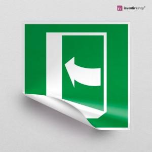 Adesivo Porta con apertura a destra/sinistra E022-E023