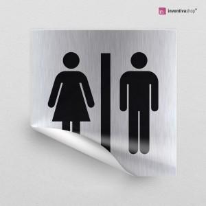 Adesivo Toilette Classic quadrato