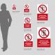 Cartello vietato l'ascensore ai non autorizzati: dimensioni