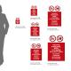 Cartello Vietato mangiare,bere o fumare in quest'area: misure adesivo / alluminio