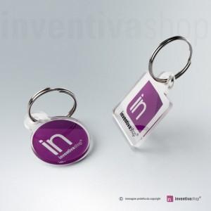 Portachiavi in plexiglass personalizzato
