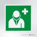 Cartello Medico d'emergenza E009