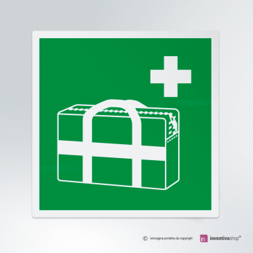 Cartello Borsa medica d'emergenza E027