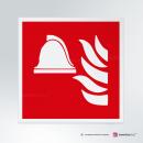 Cartello Attrezzatura antincendio F004